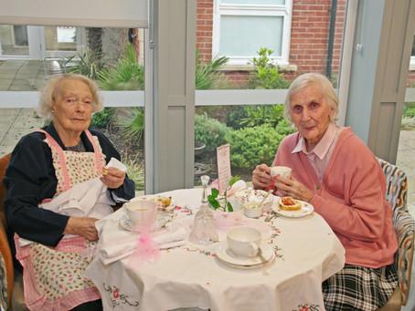 Tallington Lodge honour Rachel's awarding winning tea rooms.