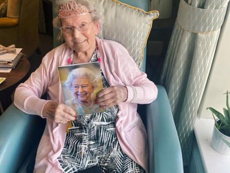 Ferrars Hall Care Home celebrates Emily's 100th Birthday