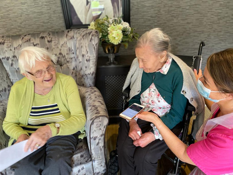 RESIDENTS AT PRESTON CARE HOME LAUNCH  THEIR OWN RADIO PLAY