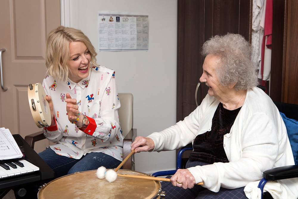 Lauren Laverne is campaigning for music to be available for everyone with dementia