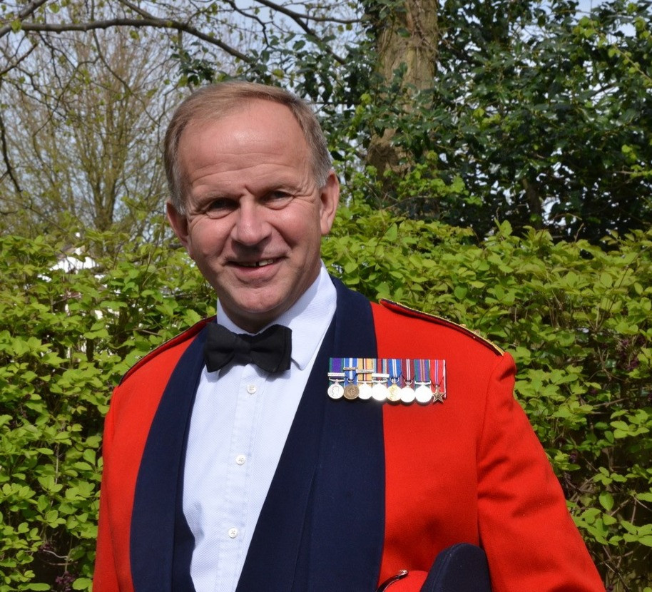 Bright Copper Kettles blog VE Day Extravaganza - Brigadier James Stopford OBE, CEO of The Not Forgotten