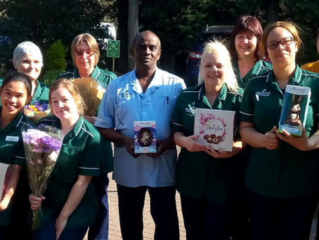 "Superstores in Bewdley join together to say ""Thank you!"" to care home staff."