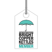 Bright Copper Kettles CIC Members tag