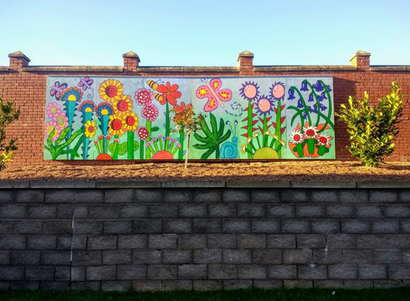 Eye-catching Garden Wall Art Project