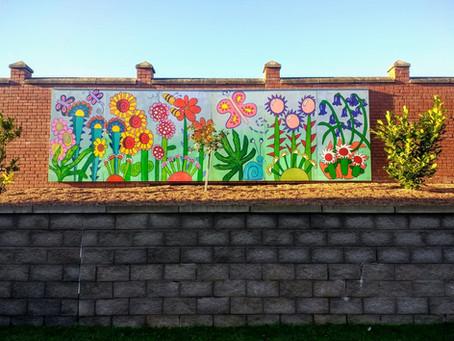 Eye-catching Garden Wall Art Project