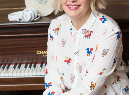 TV and radio presenter Lauren Laverne  is spearheading the Music for Dementia 2020 Campaign