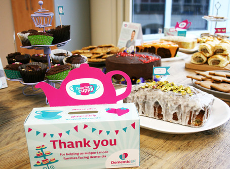 Dementia UK rises to the occasion for its annual fundraiser 'Time for a Cuppa'