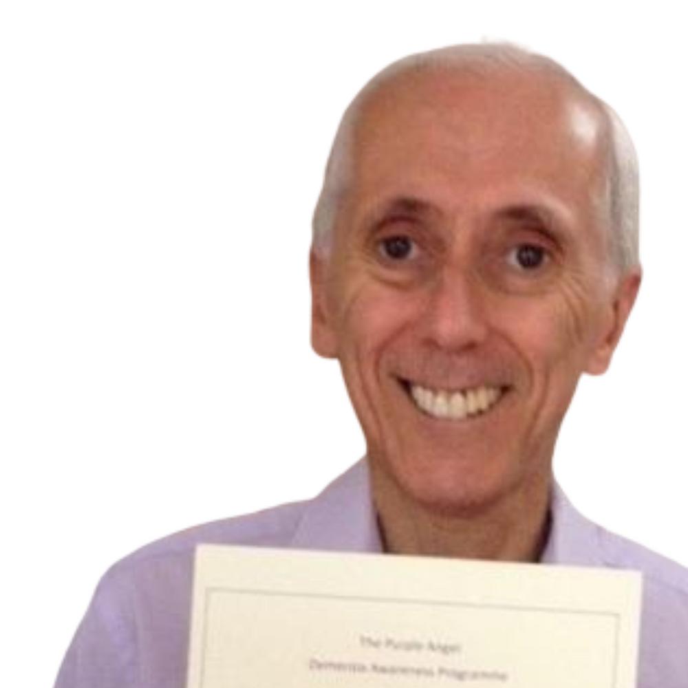 Bright Copper Kettles CIC blog: Volunteer Week Derek Fisher, Purple Angel Ambassador