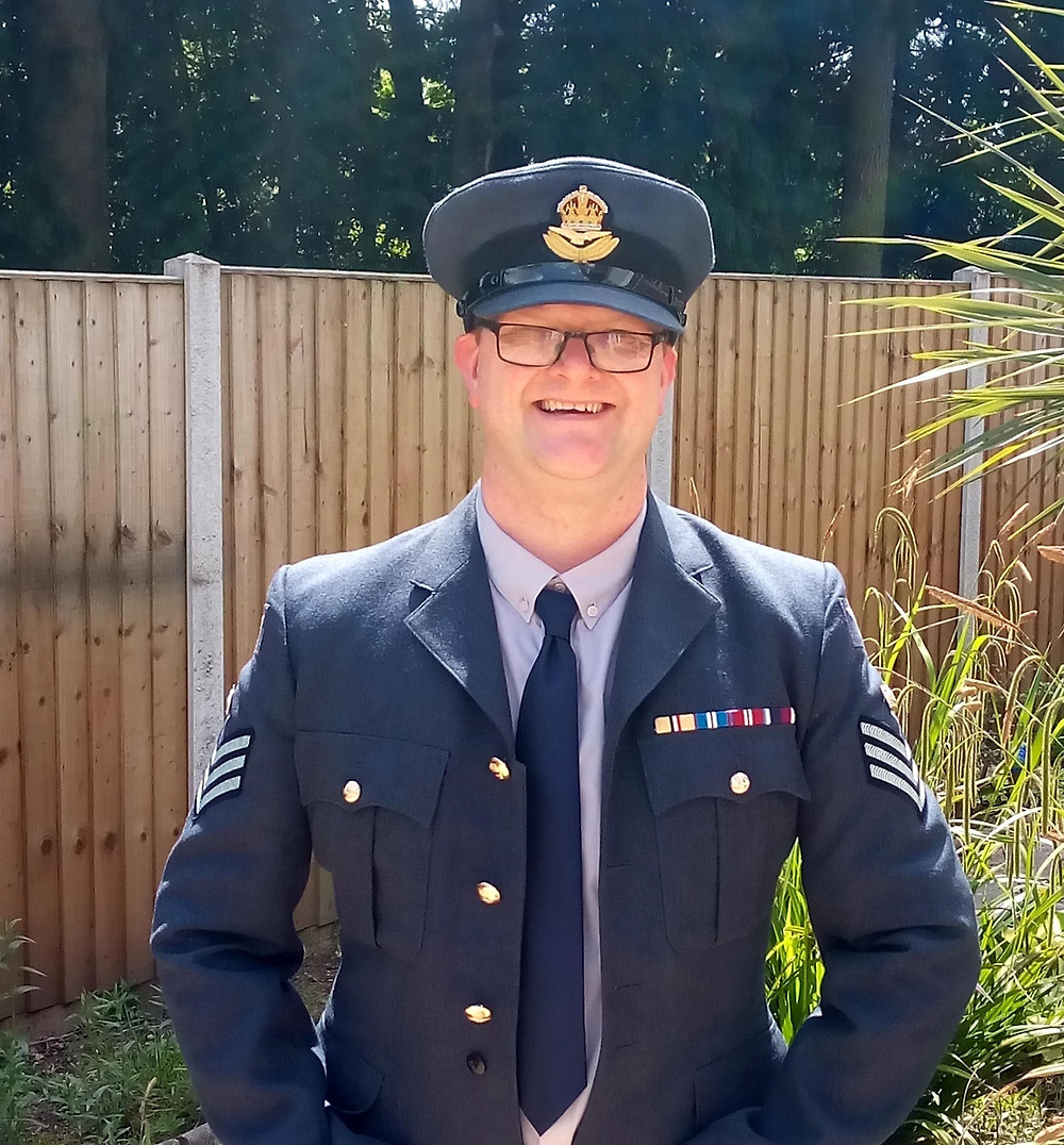 Bright Copper Kettles blog: Michael Butler, Activity Coordinator at Hollyfields Care Home in VE Day fancydress