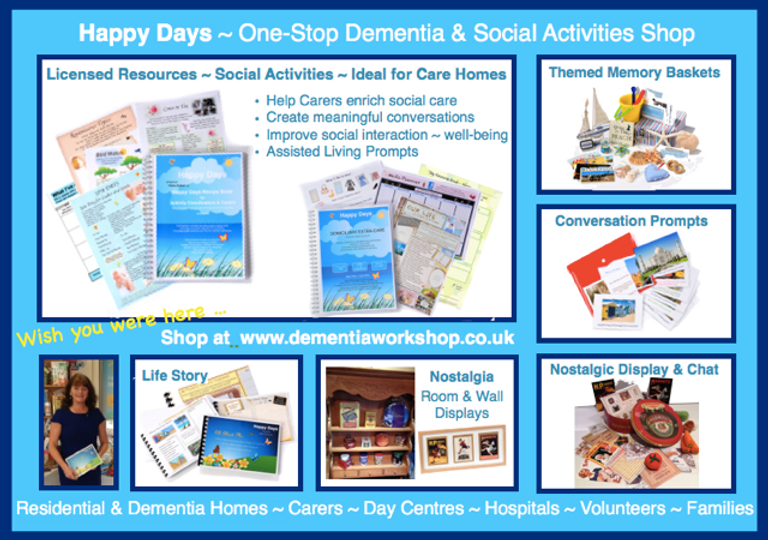 One-Stop Dementia and Social Activities Shop
