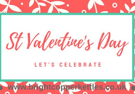 Celebrating St Valentine's Day