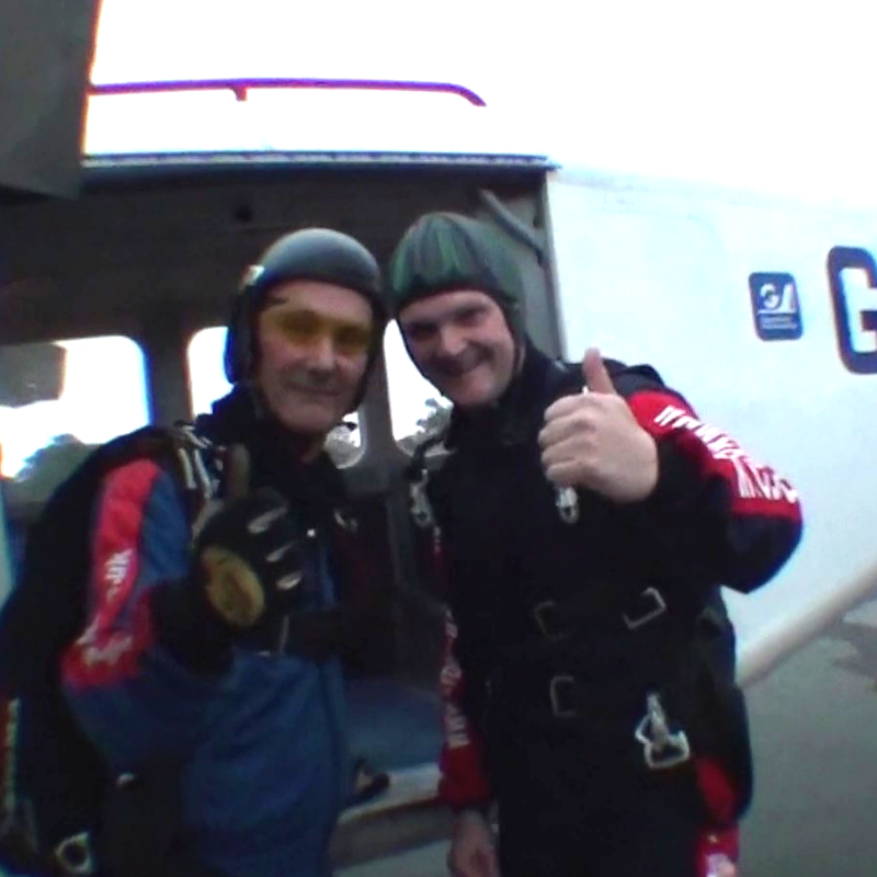 Micheal Butler - Skydive fundraiser