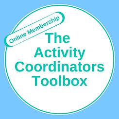 The Activity Coordinators Toolbox  - blu