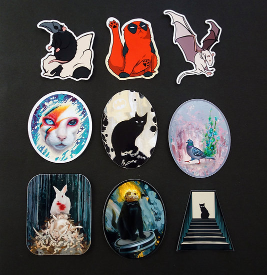Paper Stickers, choose 5
