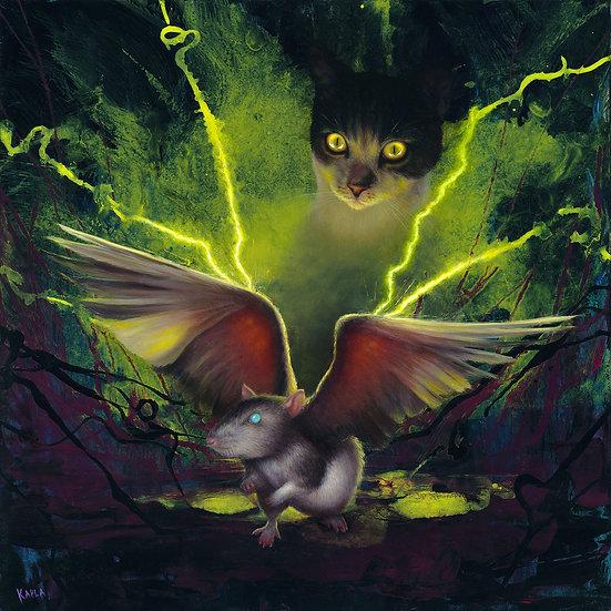 PRINT Frankenstein's Cat