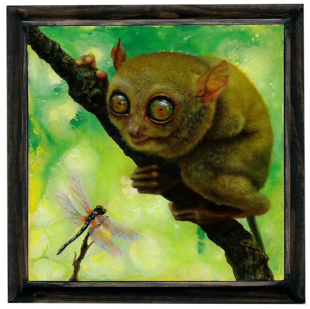tarsier painting