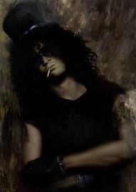 slash oil painting