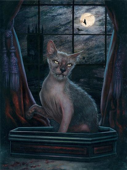 PRINT Dracula's Cat