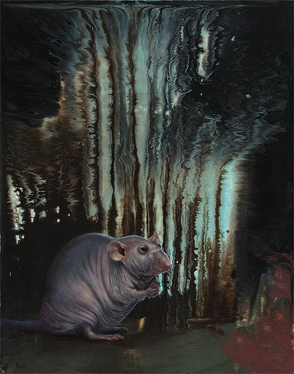 hairless rat painting
