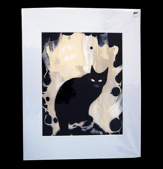 Fine Art Print Batcat