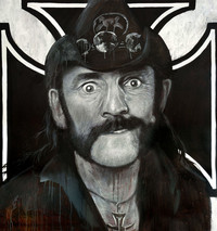 Lemmy Oil Painting