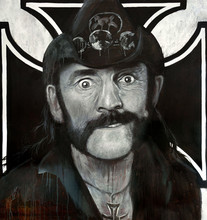 Lemmy Oil Painting