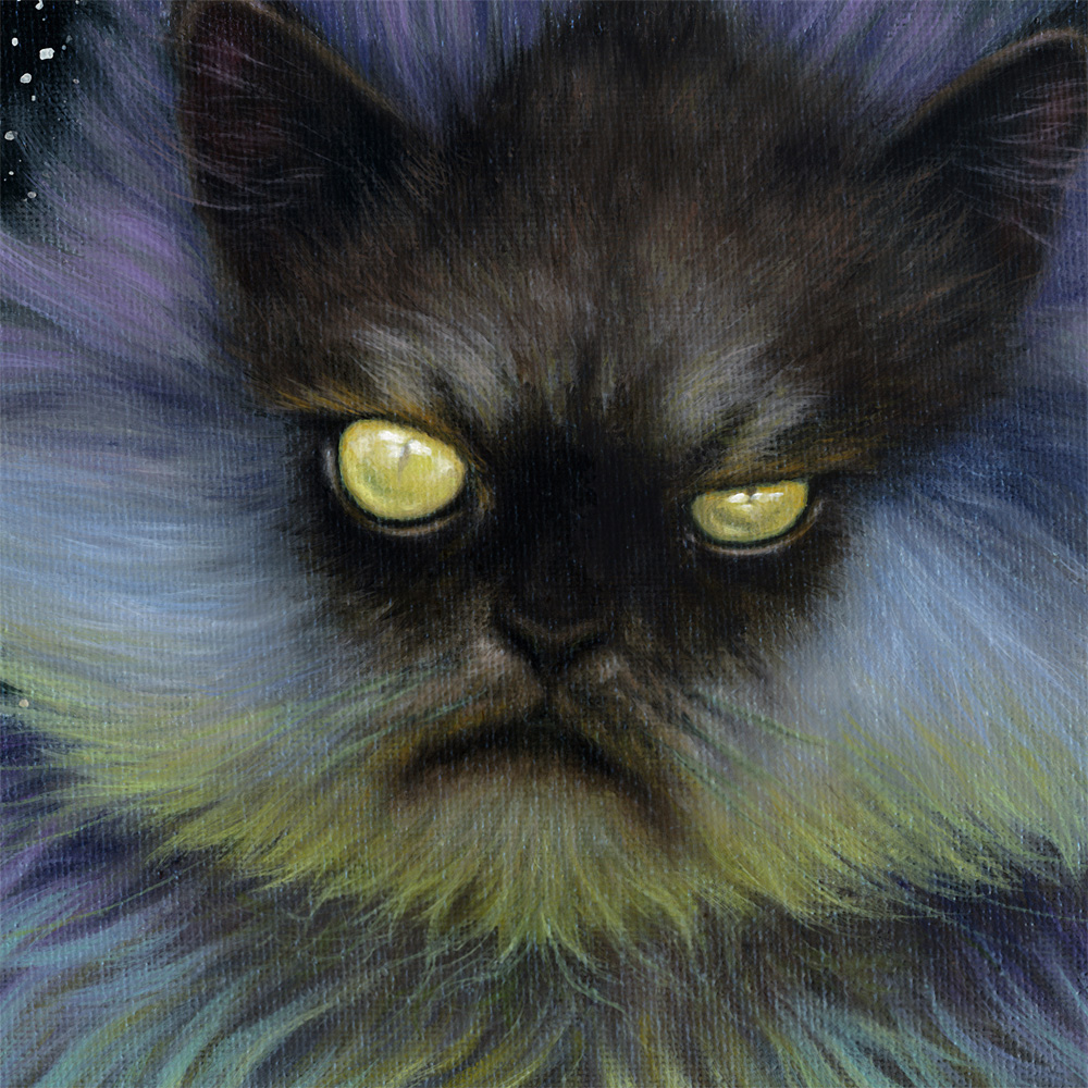 Detail, Sorcerer Snowball Painting