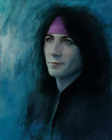 Phil Lewis oil painting