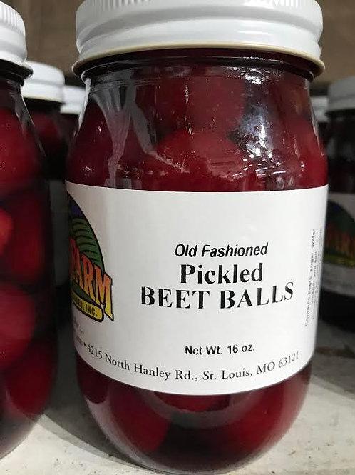 Pickled Beet Balls