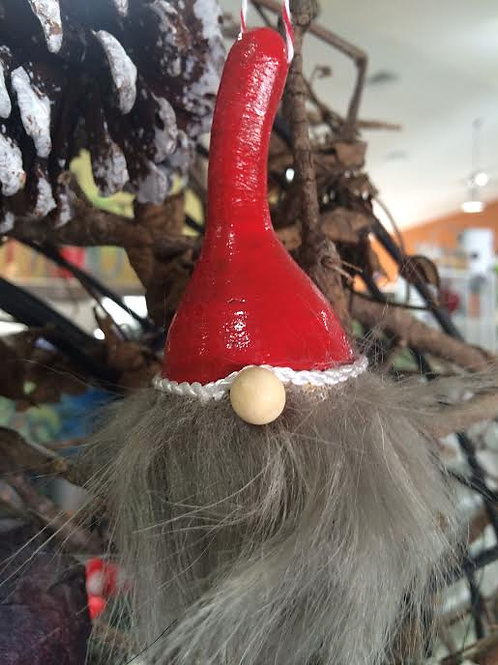 Gnome Holiday Ornament