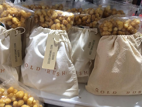 Golden Caramel Corn Nuggets in Gift Packaging