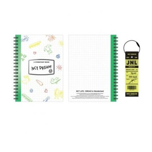 NCT Dream NCT Life: Dream in Wonderland - Commentary Book + Luggage Tag