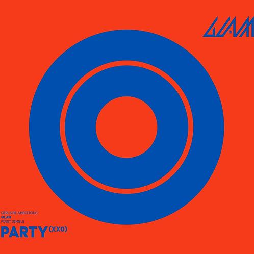 GLAM 1st Single Album - Party (XXO)