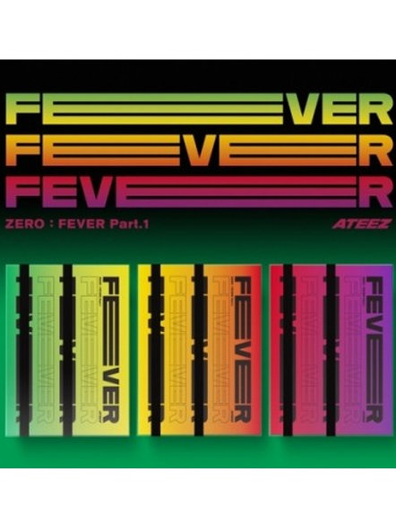 ATEEZ 5th Mini Album - Zero: Fever Part.1