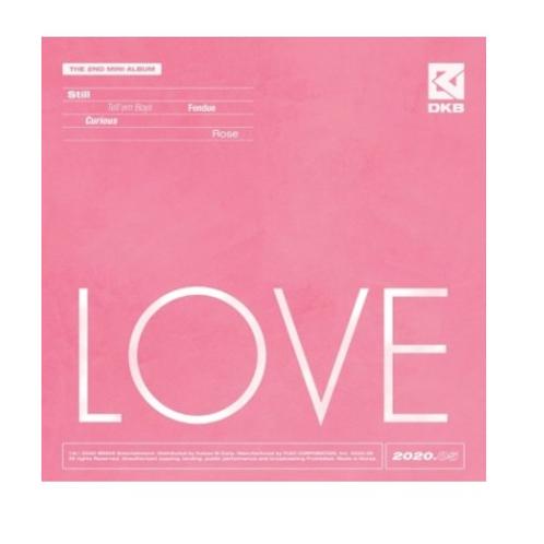 DKB 2nd Mini Album - Love