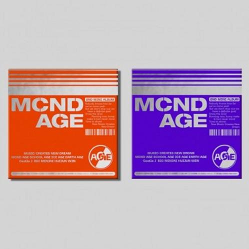 MCND 2nd Mini Album - MCND AGE