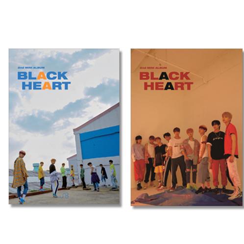 UNB 2nd Mini Album - Black Heart
