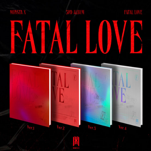 Monsta X 3rd Album - Fatal Love