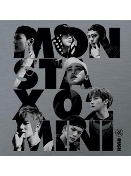 Monsta X 2nd Mini Album - Rush