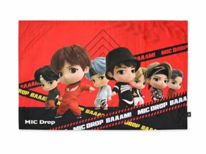 BTS x TinyTan - Mic Drop Decke