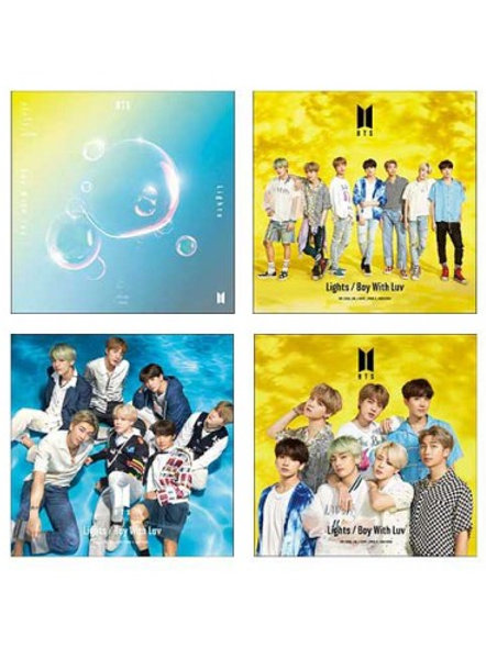 BTS Japanes Album - Lights/Boy With Luv (Limited Edition)