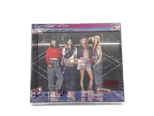 EXID 2nd Single Album - Lady