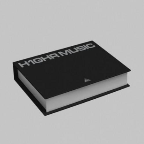 H1GHR Music 1st Compilation Album - H1GHR: Red Tape & H1GHR: Blue Tape