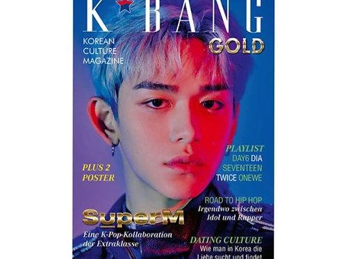K*Bang Gold #08 + Logo Badges