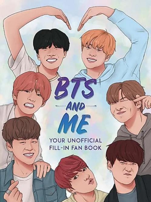 BTS Ausfüllbuch - BTS And Me (Englisch)
