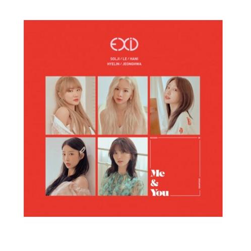 EXID 5th Mini Album - WE (Me & You)
