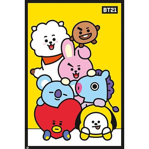 BT21 Poster #1 (61 x 91,5cm)