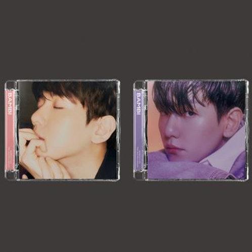 Baekhyun 3rd Mini Album - Bambi (Jewel Case Version)