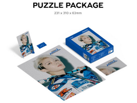 NCT 127 Neo Zone The Final Round Puzzle 1000 Teile - Yuta