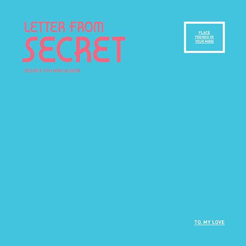Secret 4th Mini Album - Letter From Secret